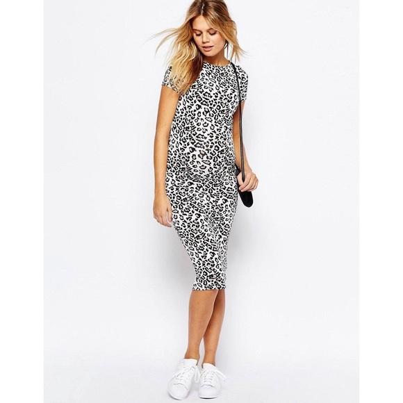 6f439239ec3 ASOS Dresses   Skirts - NWOT ASOS Leopard Print Bodycon Dress